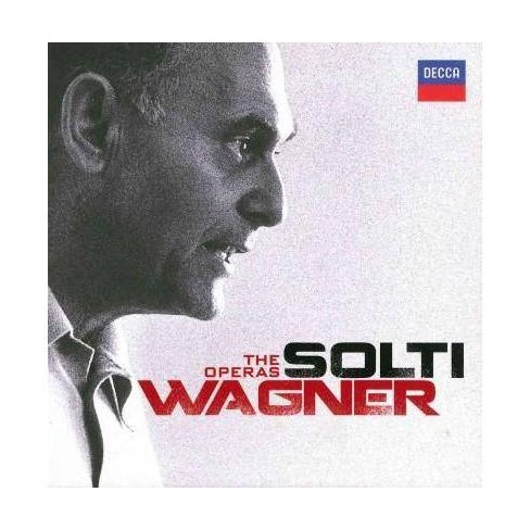 Georg Solti - Solti: Wagner- The Operas (CD) - image 1 of 1