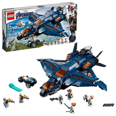 LEGO Marvel Avengers Ultimate Quinjet 76126