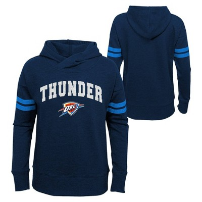 NBA Oklahoma City Thunder Girls' Post Up French Terry Hoodie