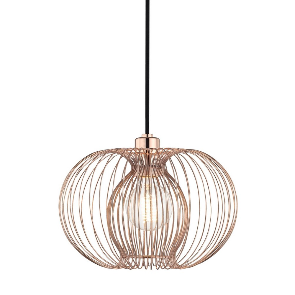 Jasmine 1-Light Small Pendant Chandelier Polished Copper - Mitzi by Hudson Valley Compare