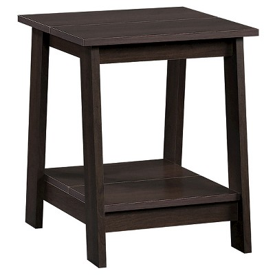 Trestle Side Table Espresso - Room Essentials™