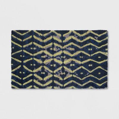 18  x 30  Shibori Outdoor Doormat Blue - Threshold™