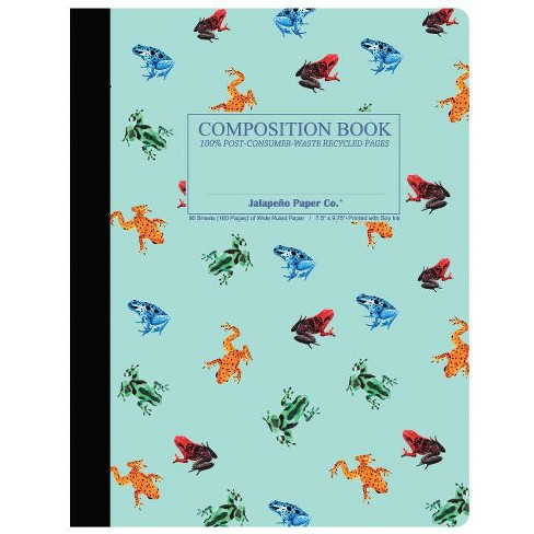 Composition Notebook Wide  Ruled Dart Frog - Jalapeno Paper Co - image 1 of 1