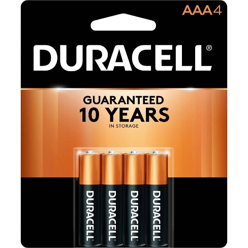 Duracell Coppertop AAA Batteries - 4 Pack Alkaline Battery - image 1 of 2