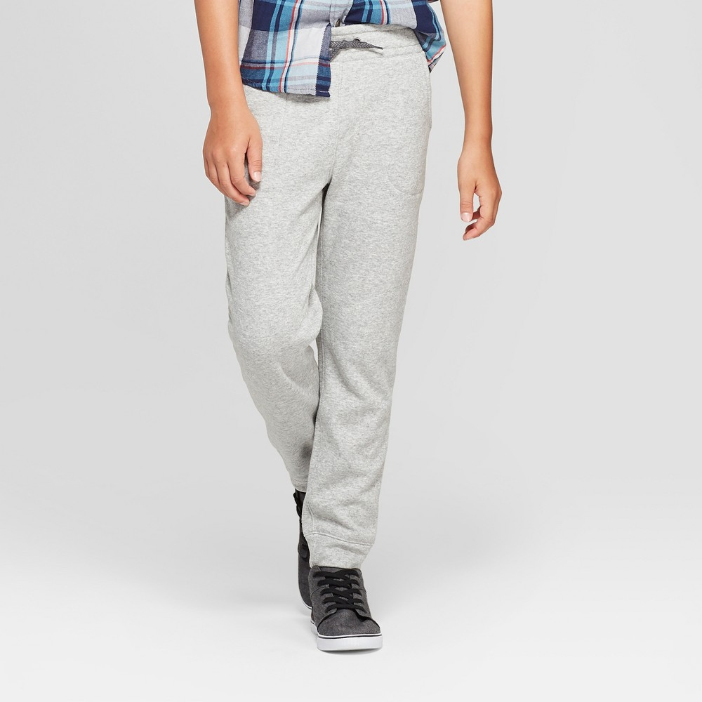 Boys' Jogger Pants - Cat & Jack Heather Gray S