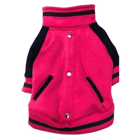 Royal Animals Dog Hoodie - Pink - image 1 of 1