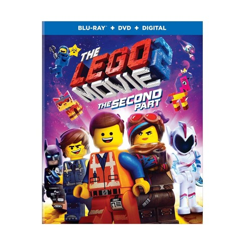 The Lego Movie 2: The Second Part (Blu-Ray + DVD + Digital) - image 1 of 1