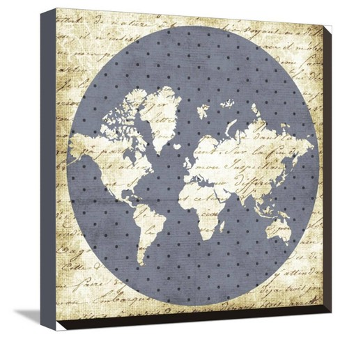World Antique by Erin Clark Stretched Canvas Print - Art.com - image 1 of 4