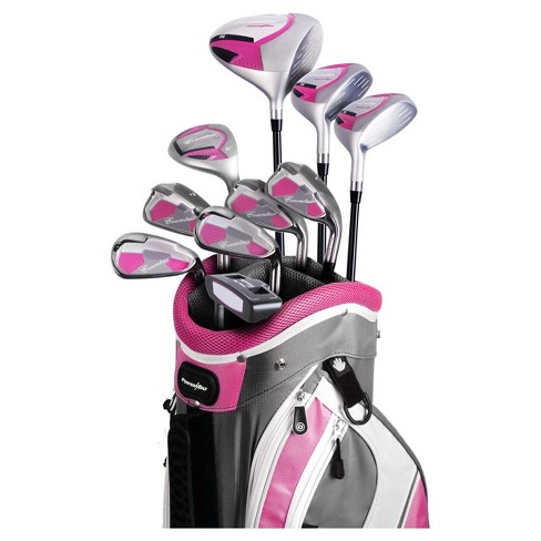 Powerbilt Countess Package Ladies' Golf Set Right Hand - Magenta - image 1 of 2