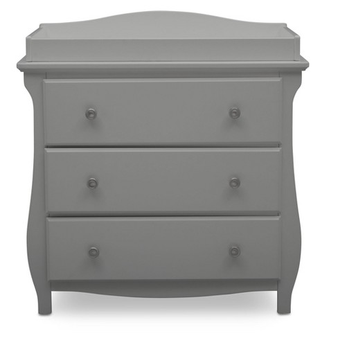 Delta Children Lancaster 3 Drawer Dresser with Changing Top - image 1 of 4