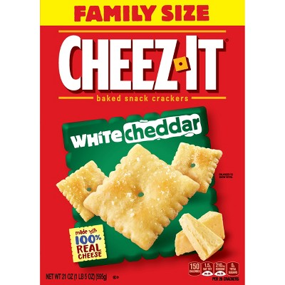 Crackers: Cheez-It White Cheddar