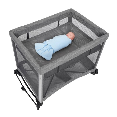 Halo 3 In 1 Dreamnest Rocking Binet Portable Crib Travel Cot With Breathable Mesh Mattress Target