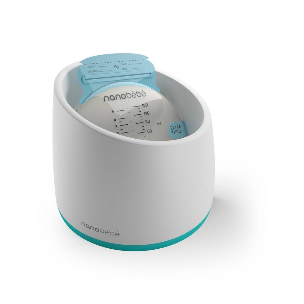 Nanobebe Smart Baby Bottle Warming Bowl White