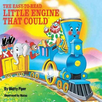 The Easy-To-Read Little Engine That Could ( All aboard Books)(Paperback)