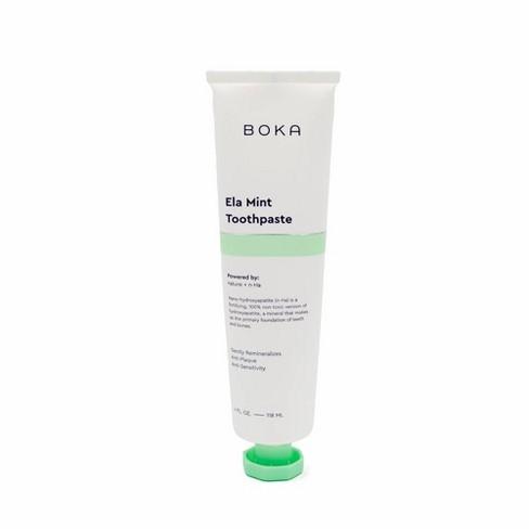 Boka Anti-Plaque Toothpaste Ela Mint - 4 fl oz - image 1 of 3