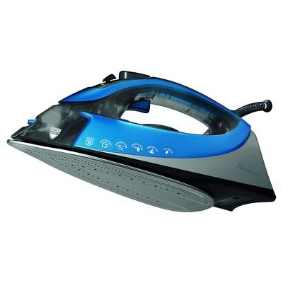 Sunbeam® Turbo STEAM™ Iron, Silver & Blue, GCSBCS-200-000
