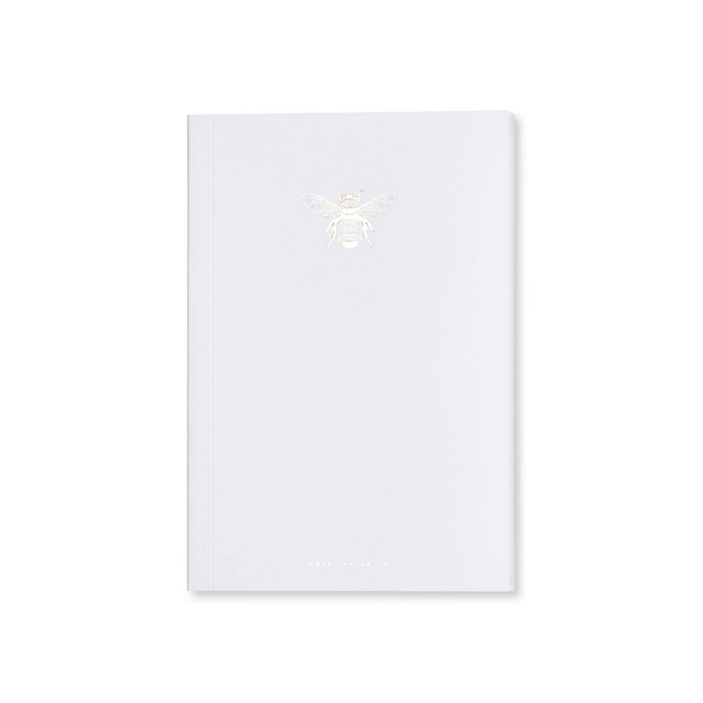 Image of Special Lined Bee Composition Notebook White - West Emory