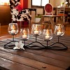 "22"" x 8"" Decorative Iron 5-Tealight Candle Holder Black - Danya B - image 2 of 3"