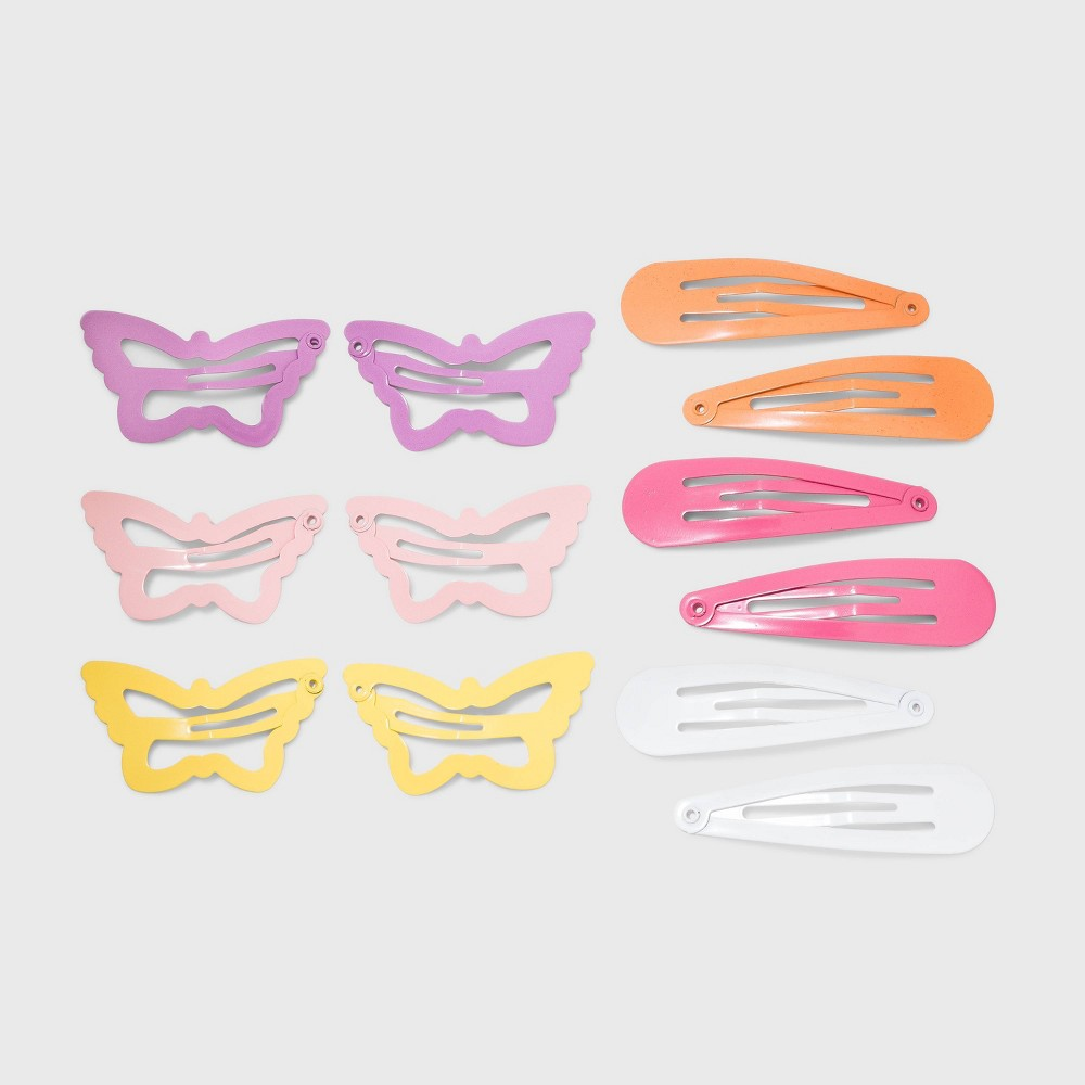 Butterfly Snap Hair Clip Wild Fable 8482 Pink