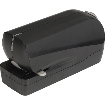 Business Source Electric Flat Clinch Stapler - Black