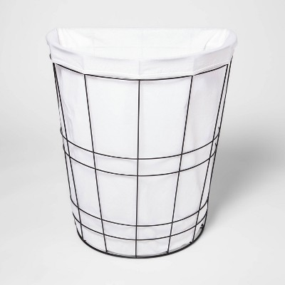 Metal Wire Basket with Fabric - Room Essentials™