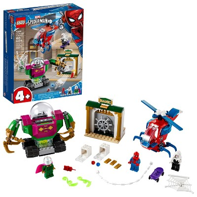 LEGO Marvel Spider-Man The Menace of Mysterio Superhero Playset with Ghost Spider Minifigure 76149