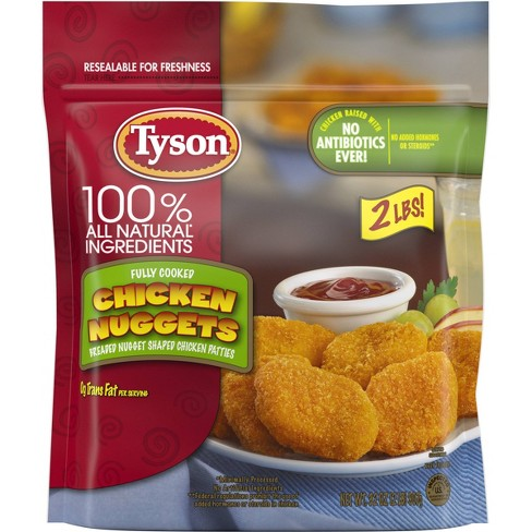 Tyson All Natural All Natural Chicken Nuggets - Frozen - 32oz - image 1 of 4