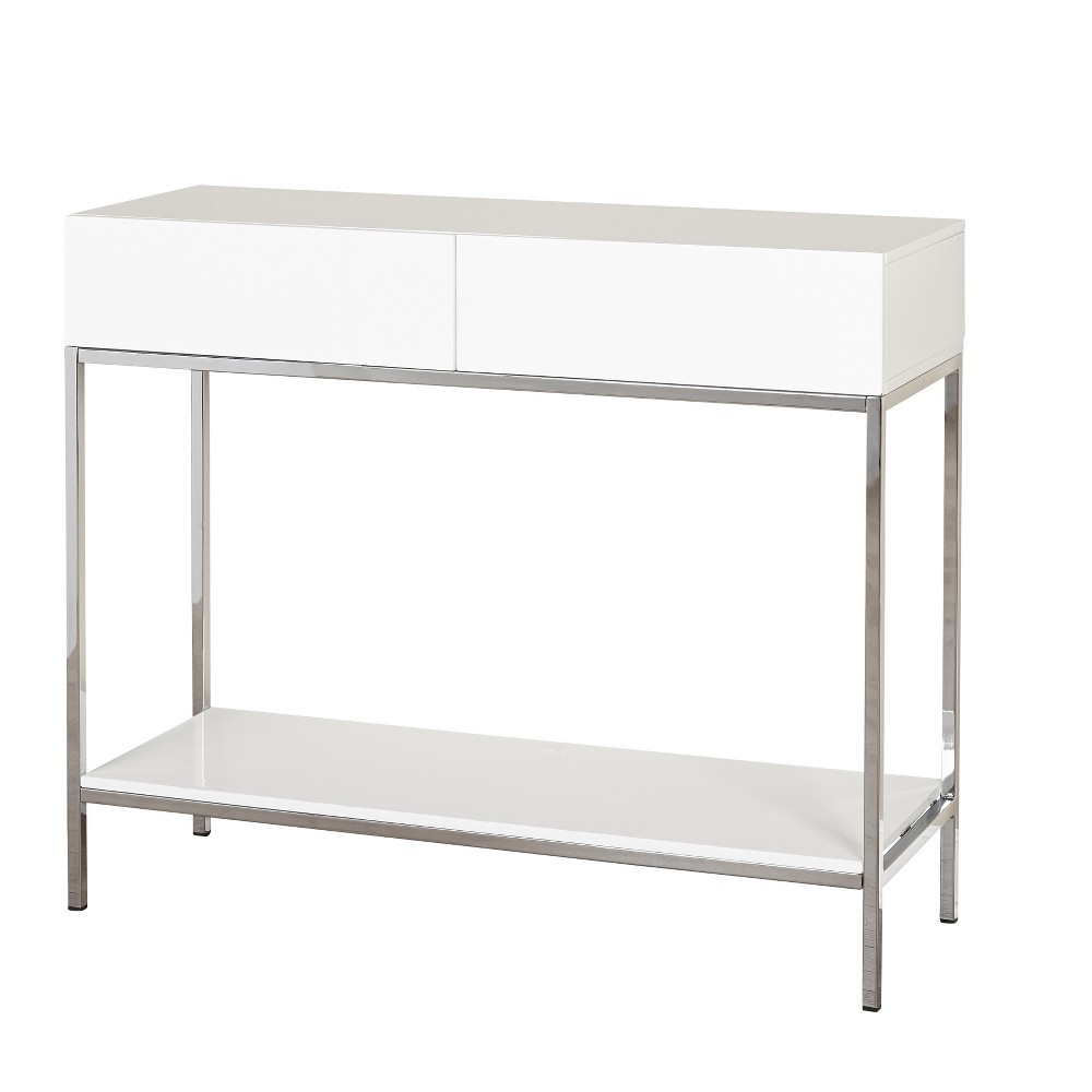 Lewis Sofa Table - White - Buylateral