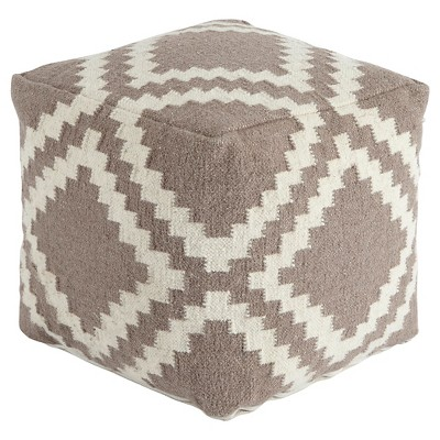 Geometric Pouf Gray - Signature Design by Ashley