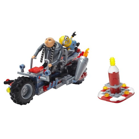Mega Construx Despicable Me 3 Gru's Water Motorbike Building Set - image 1 of 12