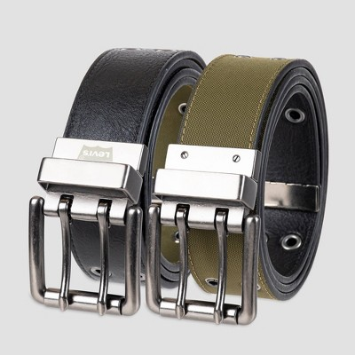 Levi's® Men's 38mm Reversible Casual Belt - Black