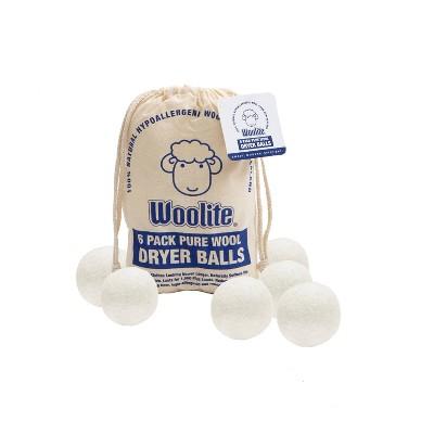 Woolite 6pk Wool Dryer Ball Set