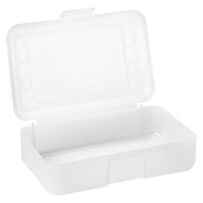 Advantus® Pencil Box - Clear