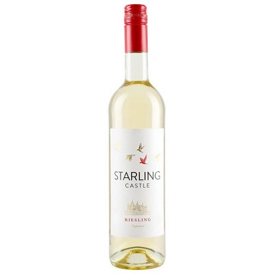 Starling Castle Riesling White Wine - 750ml Bottle