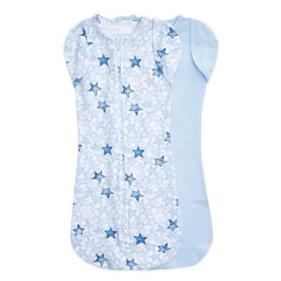 aden + anais Snug Swaddle Wrap - Twinkling Stars 0-3 Months Blue - 2pk