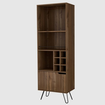 Aster High Bar Cabinet Mahogany - RST Brands