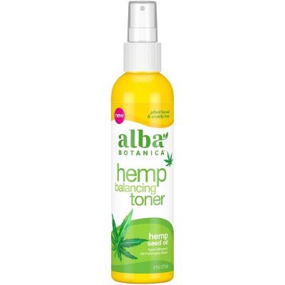 Alba Botanica Hemp Seed Oil Balancing Toner - 6 fl oz