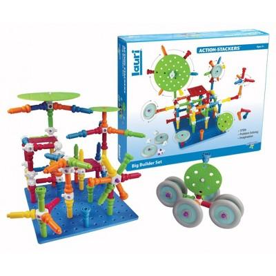 Playmonster Action-Stackers Premium Building Set  - 124-Piece Set