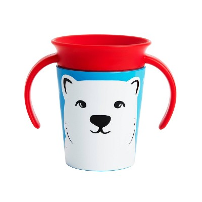 Munchkin Miracle 360° WildLove Trainer Cup - 6oz Polar Bear