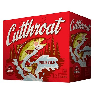 Uinta Cutthroat Pale Ale Beer - 12pk/12 fl oz Cans