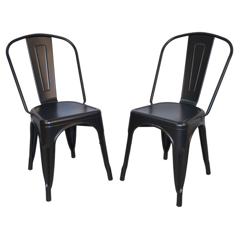 Set of 2 Sadie Metal Chair - Carolina Chair and Table - image 1 of 3