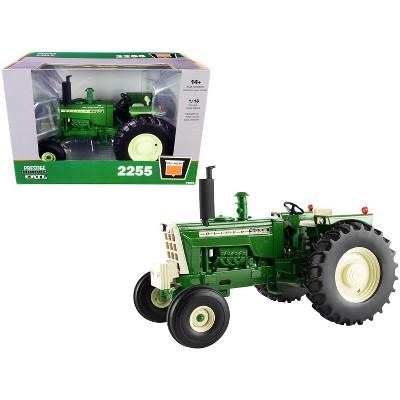 "Oliver 2255 Diesel Tractor Green ""Prestige Collection"" Series 1/16 Diecast Model by ERTL TOMY"