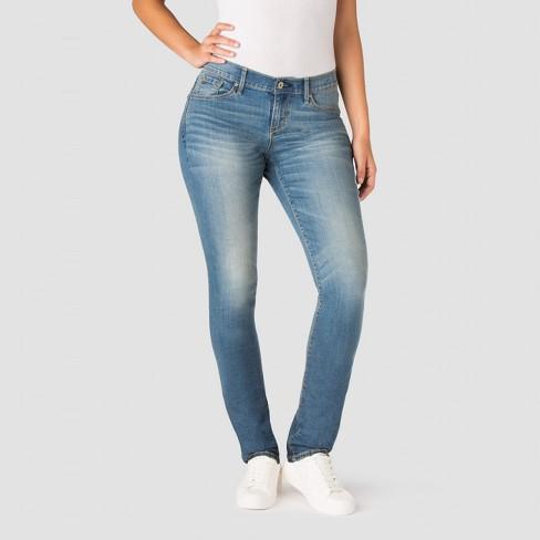 DENIZEN® From Levi s® Women s Curvy Slim Jeans - Blue Ice   Target b64da5153