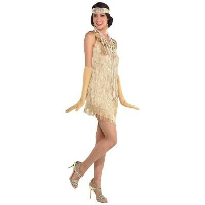 Adult Flapper Halloween Costume