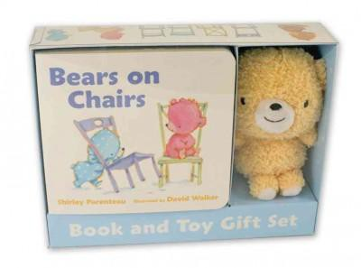 Bears on Chairs Book and Toy Gift Set (Hardcover)(Shirley Parenteau)