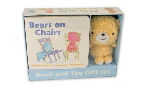 Bears on Chairs Book and Toy Gift Set (Hardcover) (Shirley Parenteau) - image 1 of 1