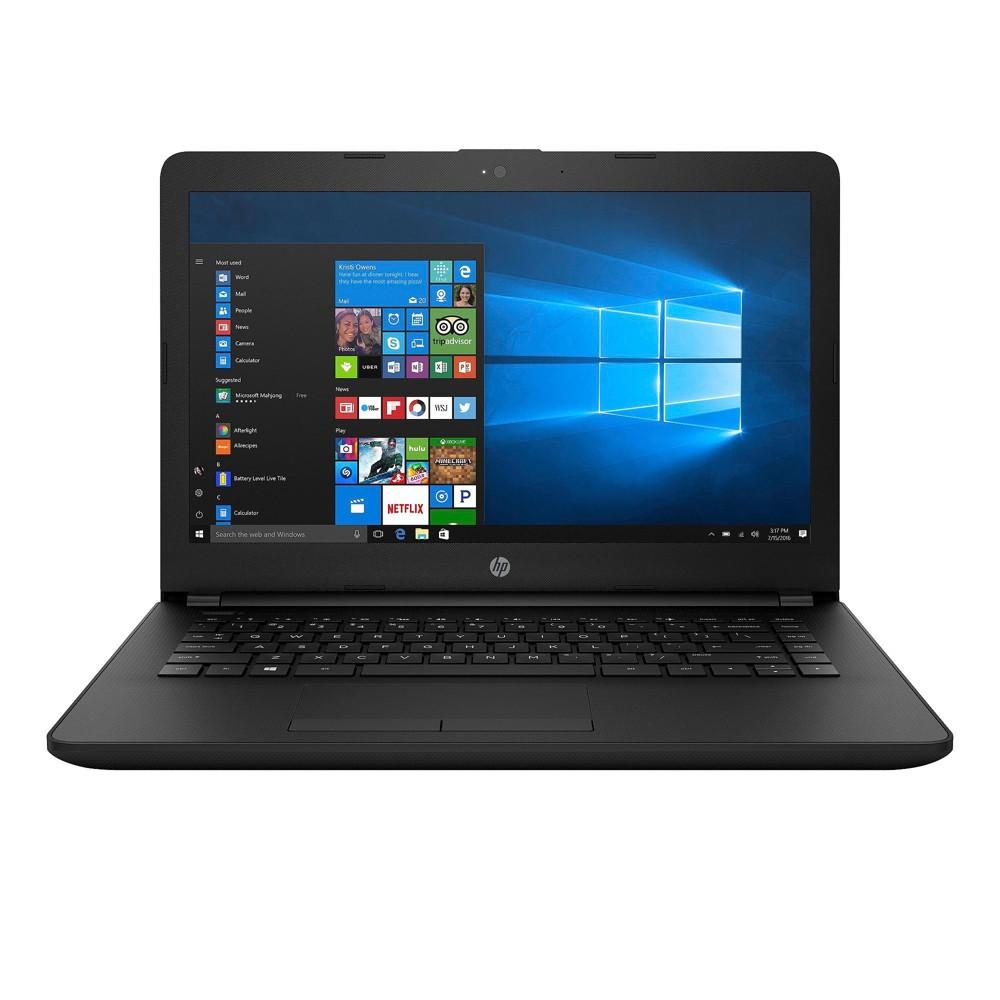 "HP Windows 10 14"" Laptop - Jet Black (14-BW012NR)"
