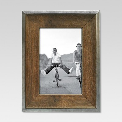4  x 6  Espresso with Silver Border Frame - Threshold™