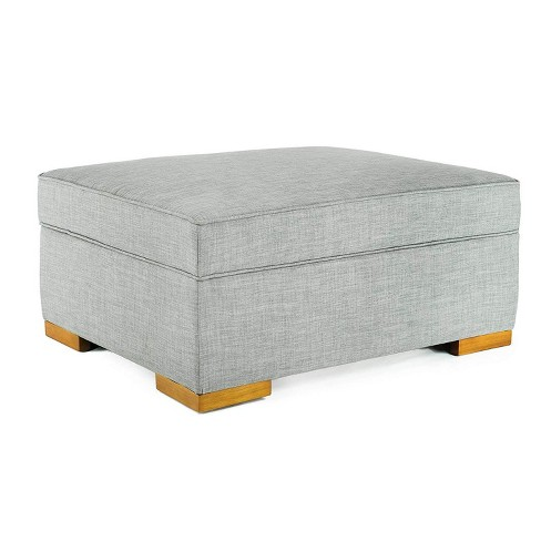 Brilliant Spacemaster Ibed Convertible Ottoman Fold Out Hideaway Guest Bed Gray Fabric Theyellowbook Wood Chair Design Ideas Theyellowbookinfo