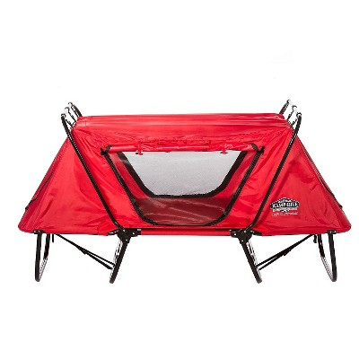 Kamp-Rite Kid's Tent Cot with Rain Fly - Red